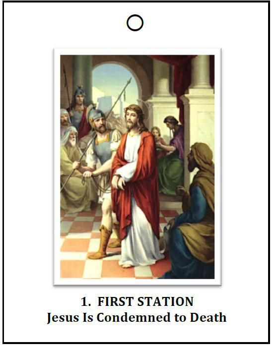 pamphlet for the stations of the cross for children (and second ... - Lent Coloring Pages Booklets Kids