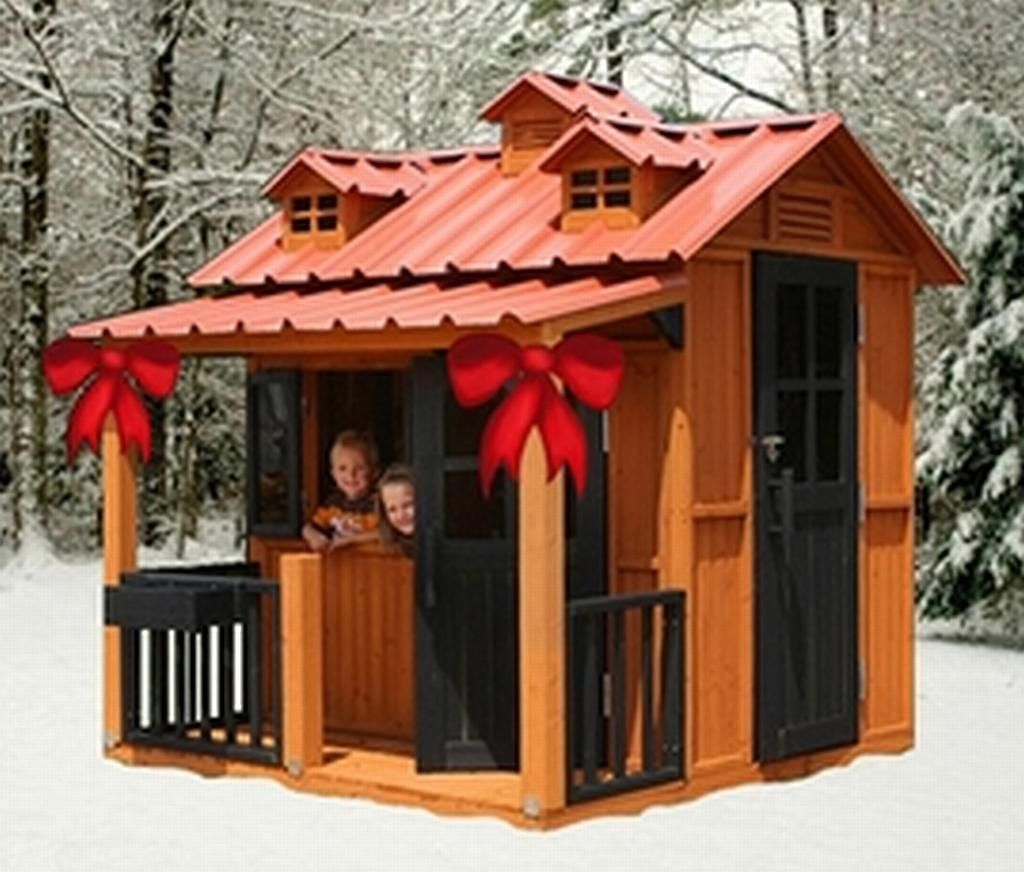 Outside Playhouses For Kids Plans DIY Free Download diy kitchen ...