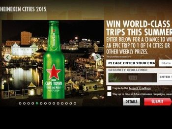 The Heineken Cities of the World Sweepstakes | Things to Win