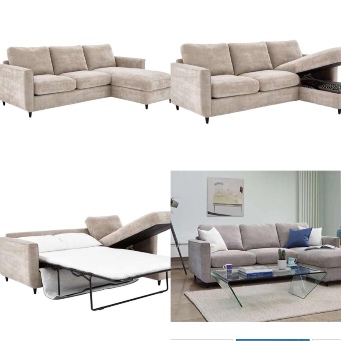 Esprit Chaise Sofabed With Storage Home Sweet Home Pinterest