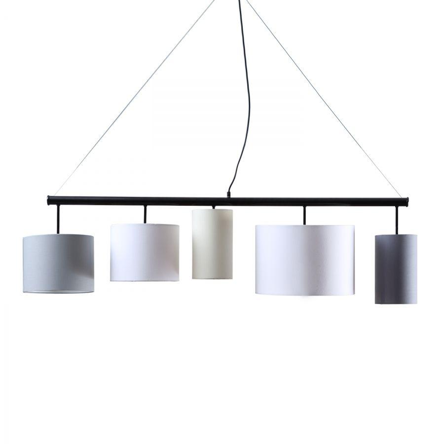 Lampe Esszimmer Pendelleuchten Wohnzimmer Beautiful: Pendelleuchte Kamia Quintett Von Loistaa (5-flammig) In