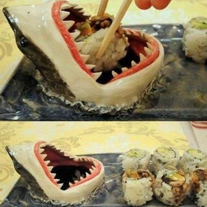 dunk your sushi.. This is amazing!