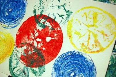 Preschool craft... V is for Vegetable