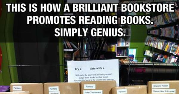 Walked Into A Book Store And Spotted This Genius Idea.