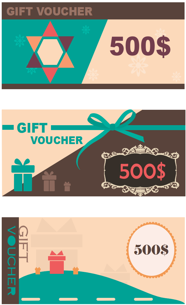 get free customizable gift voucher template from this page here are