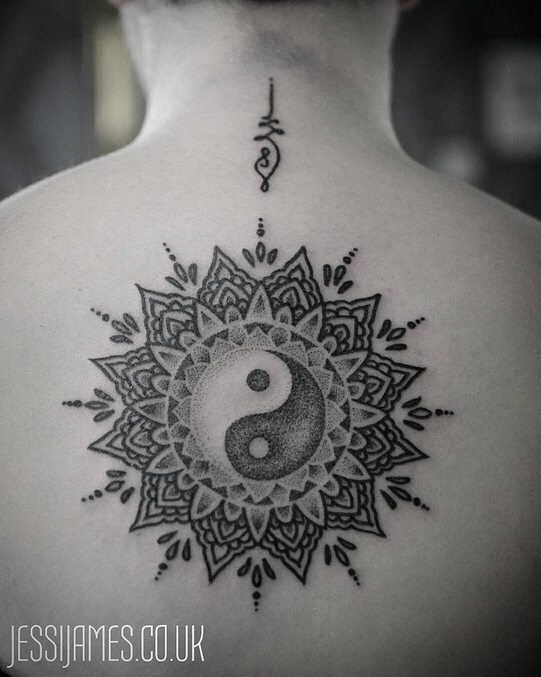 Yin Yang Mandala Tattoo 2017 Pinterest Tattoos Yin Yang