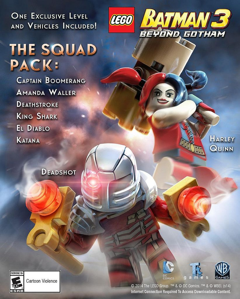 LEGO Batman 3 : Beyond Gotham - The Squad Pack: Deadshot, Harley and