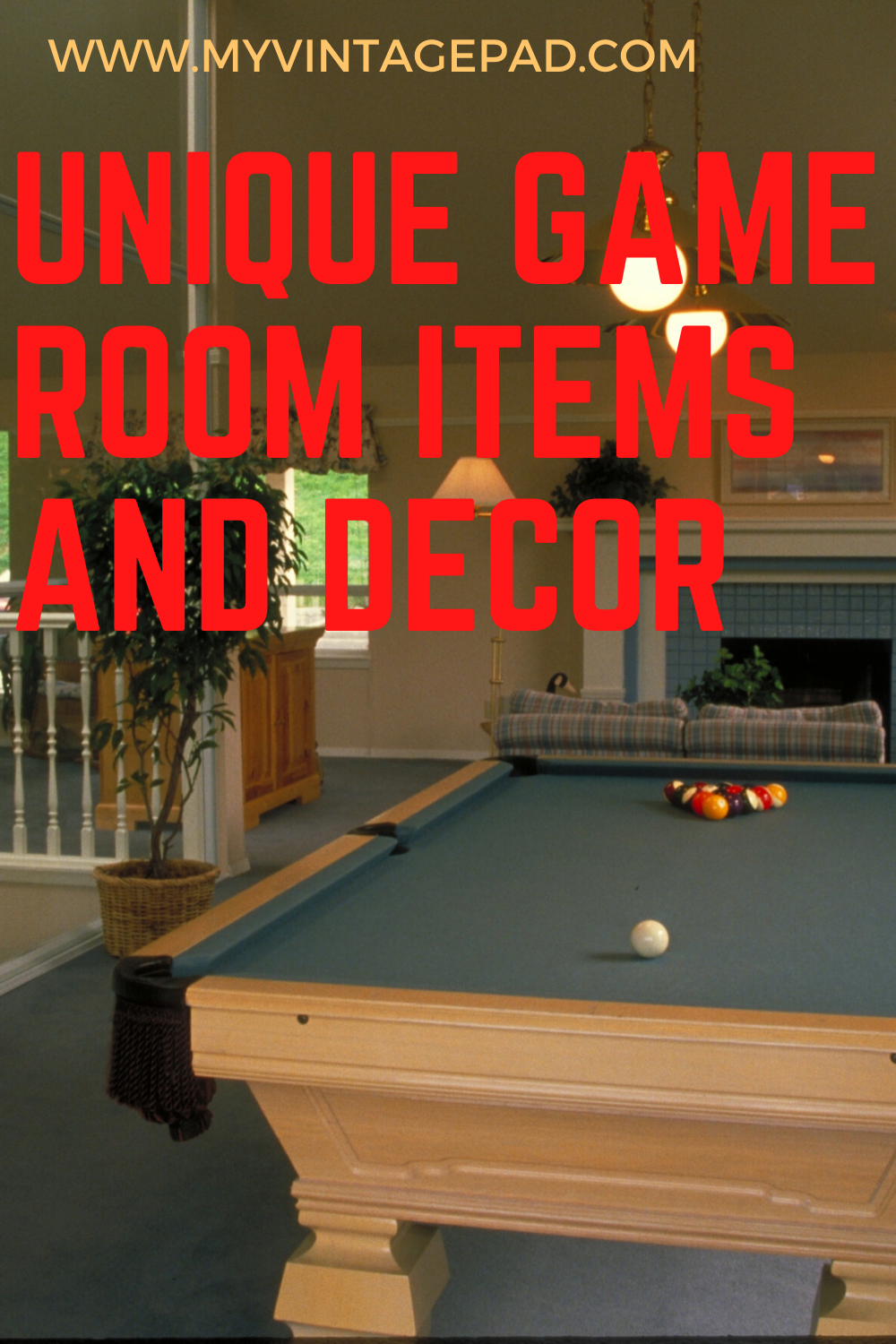 Cool Game Room Items And Retro Decor In 2020 Retro Games Room