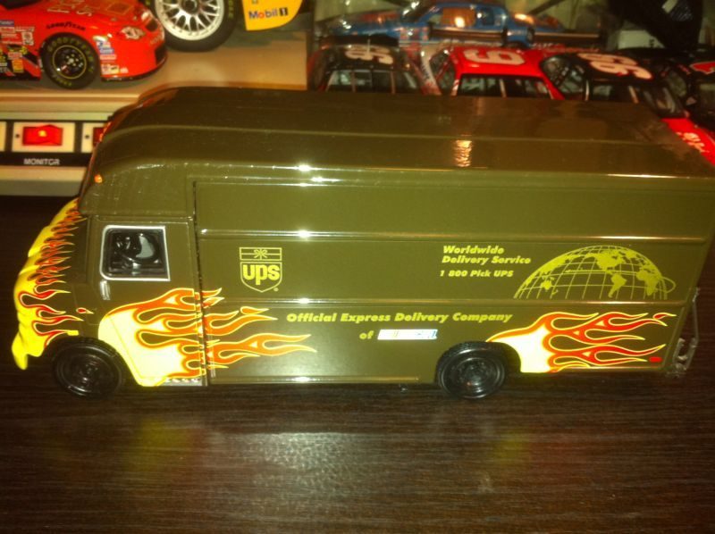 UPS Promo package truck Nascar diecast, Car collection