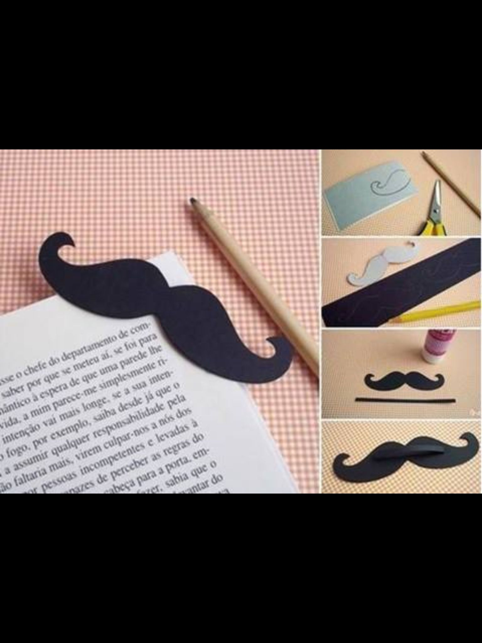 how to make a bookmark easy