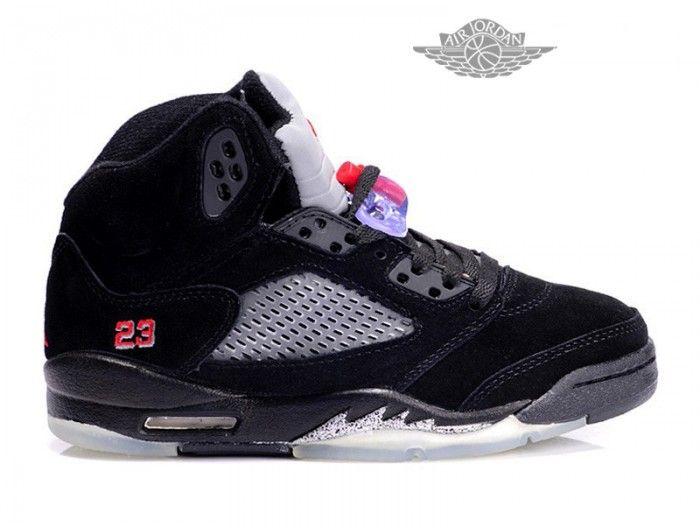 Chaussures Air Jordan 5 Retro Anti-fourrure Pas Cher Pour Femme Air Jordan  5 Retro