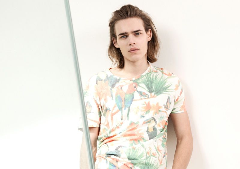 Bershka 'April' Menswear S/S14 Lookbook Update. #menswear #mensfashion #ss14 #Bershka #Fblogger