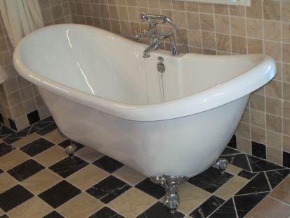 Bad Op Pootjes : Fixer upper hgtv french country bathroom goedkoop bad op pootjes