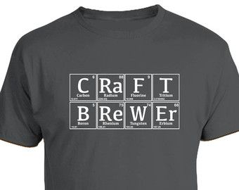 Craft brewer periodic table homebrew t shirt fathers day craft brewer periodic table homebrew t shirt fathers day birthday christmas gift urtaz Images