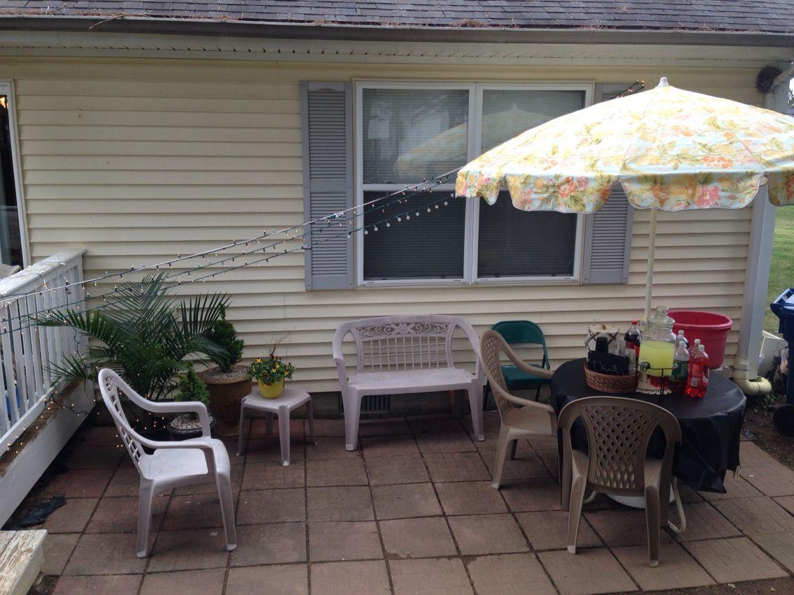 outdoor entertaining patio backyard black u0026 white 21st