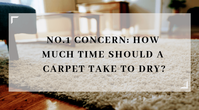 """No.1 Concern: How Much Time Should A Carpet Take To Dry?  The most common and frequently asked question we get to hear from people is """"how much time does it take to dry after carpet cleaning?""""  We've all heard stories about cheap cleaning companies who have cleaned an expensive carpet which has then taken several days to dry."""