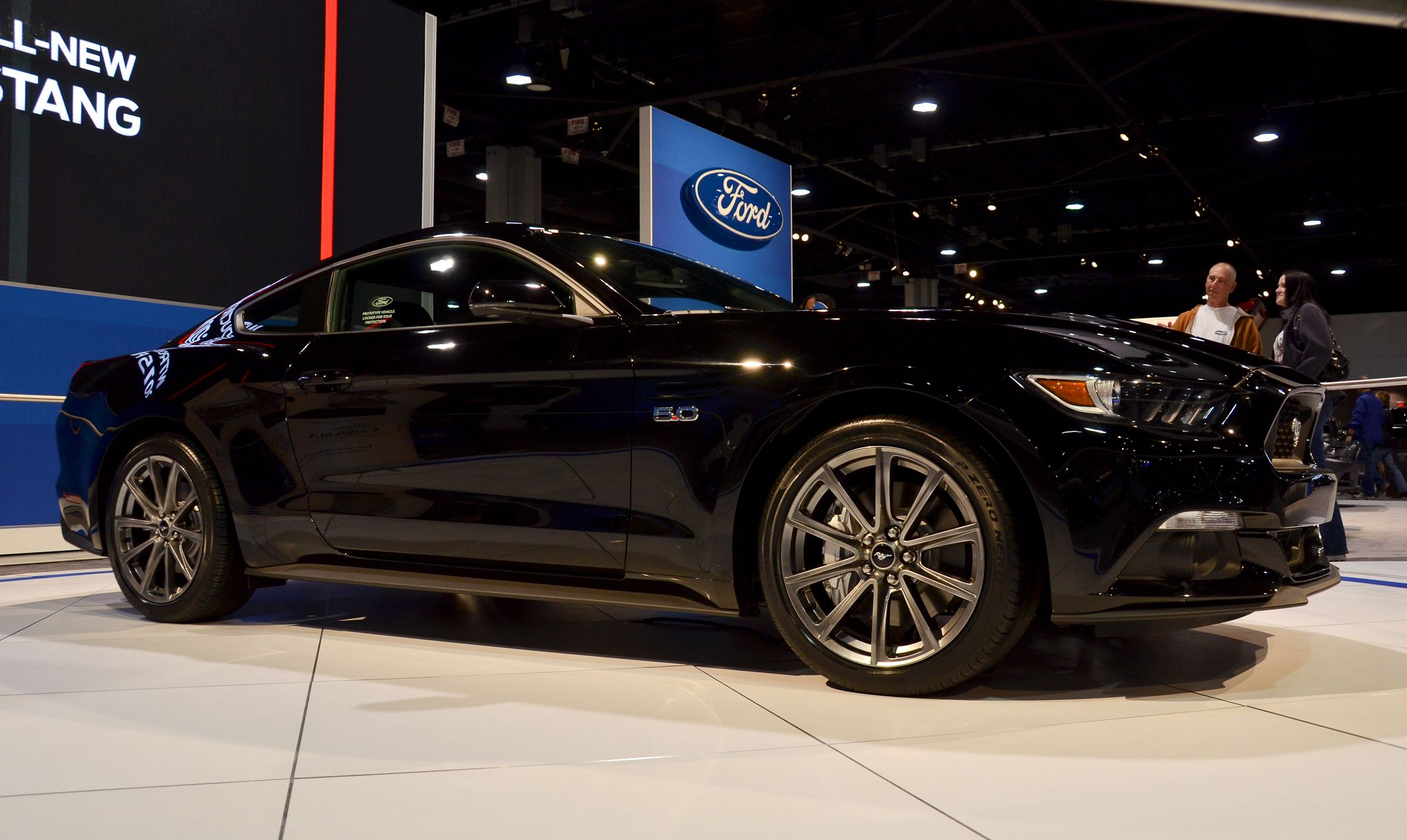 Black 2015 Ford Mustang