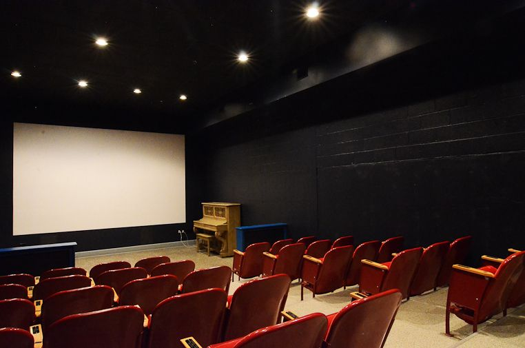 The Cinema room at the Auburn Public Theater has 70 ...