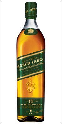 Most Expensive Blended Malt Whiskey Johnny Walker Green Label