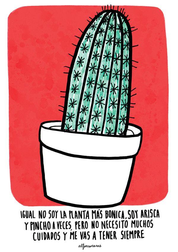 Oleart alfonso casas cactus frases pinterest for Informacion sobre el cactus