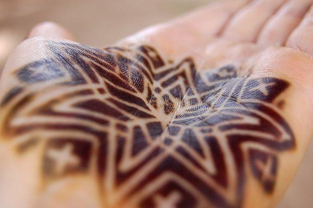 West Africa henna