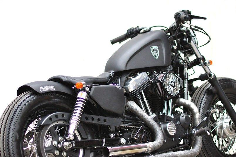 Sportster by Studio Motor Customs via slypiggens | Bobber ...