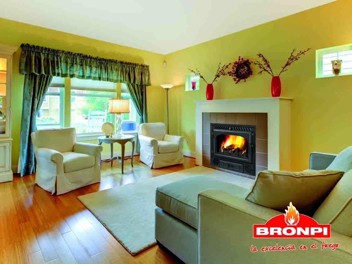 Chimenea de leña Bronpi Astorga |  Bronpi Wood Inserts Fireplaces Astorga | Cheminées Inserts à bois Bronpi Astorga | Camini Inserti a legna Bronpi Astorga | Lareiras Inseriveis de Lenha Bronpi Astorga | Ένθετες εστίες ξύλου Bronpi Astorga