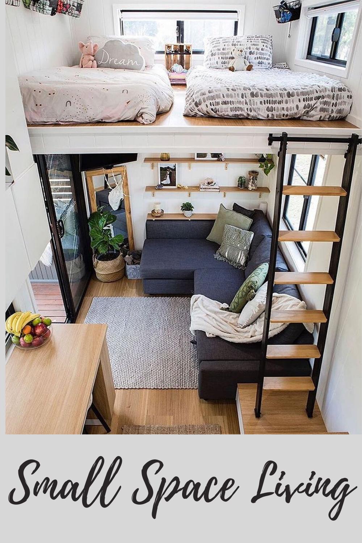 Amazing tiny house #orderconcept #smallspaces @tinyhouseattractive