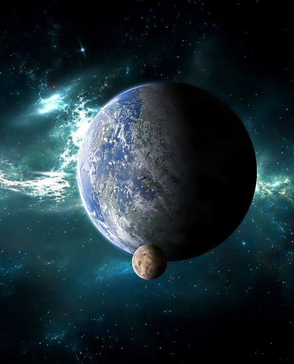 Beautiful HD Universe And Planets Desktop Background HDUniverse DesktopBackground