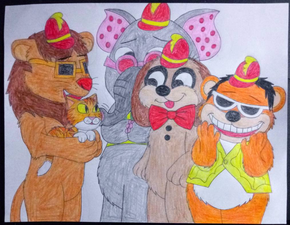 Idea by Joseph Formichelli on The Banana Splits Revivial