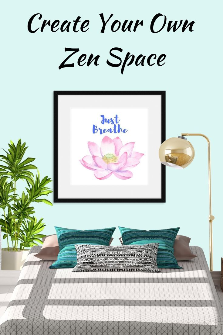 Just Breathe Lotus Flower Pink (With images) Printable