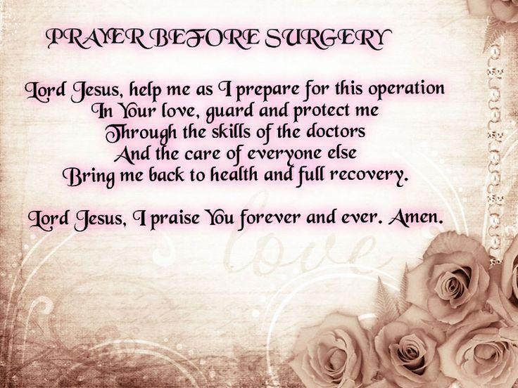 20 Short But Effective Prayers for Surgery | Surgery