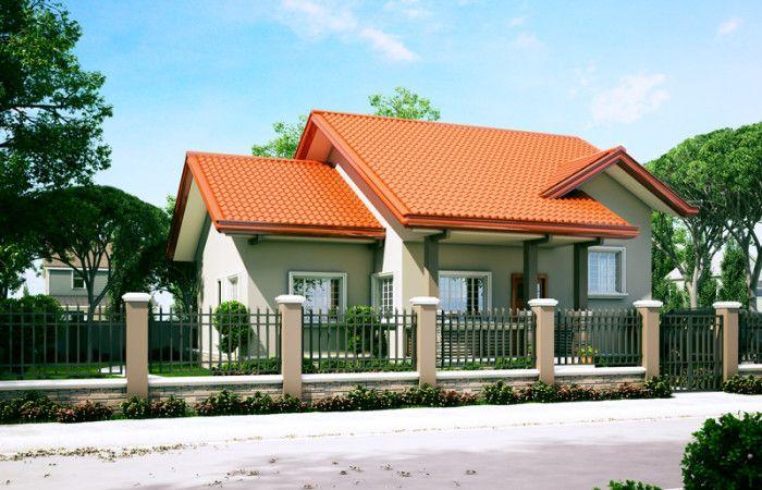 Small House Designs Series Shd 2014006v2 Pinoy Eplans Small House Design Small House Design Exterior Small House Design Plans