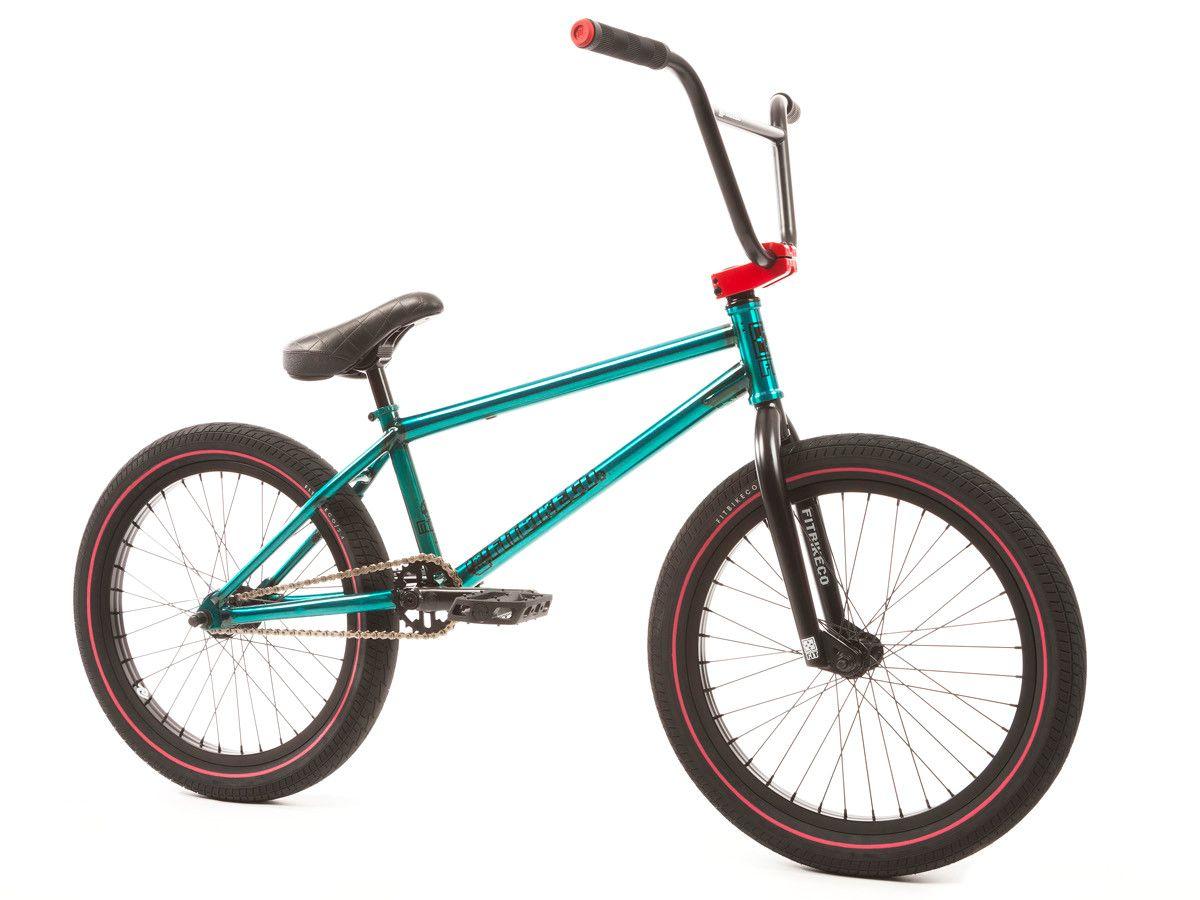 Fit Bike Co Mac 1 2017 Bmx Bike Trans Teal Kunstform Bmx