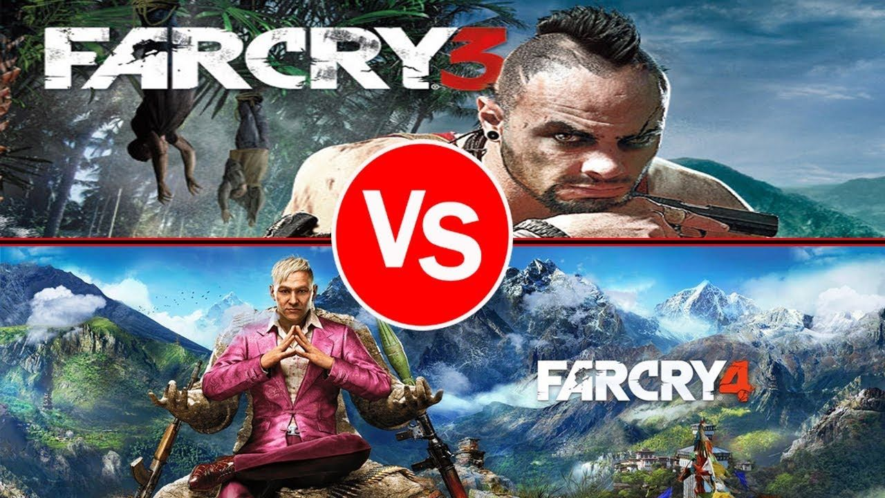 Far Cry 4 Vs Far Cry 3 Ultra Graphics Comparison Full Hd 2017 Pc Ps Far Cry 4 Far Cry 3 Crying