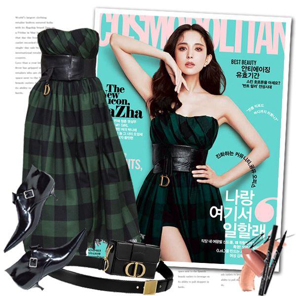 Dior Fall 2019 Cosmopolitan fashion look by sella103
