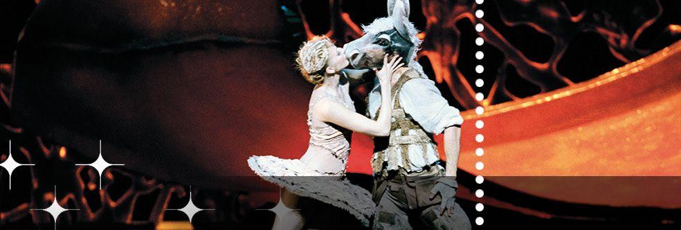 Kesäyön unelma ― Taianomaisia rakkauskiemuroita pulppuavassa romanttisessa näytelmässä seikkailevat niin keijut kuin ihmisetkin, ja rakkaudenkohteet vaihtuvat moneen kertaan. Tarina tarjoaa loppumattoman aarreaitan taitavalle koreografille. Oopperan päänäyttämöllä 15.5.2015 asti.