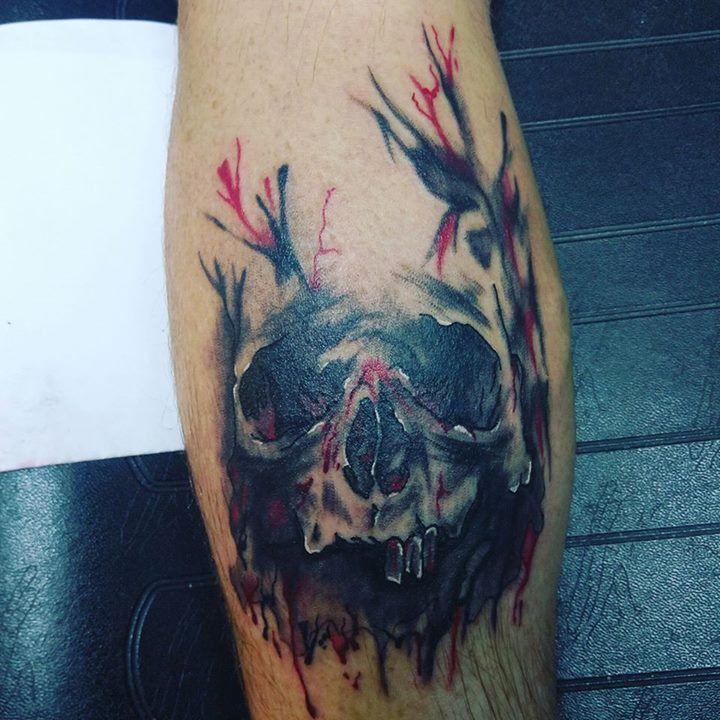 Beautiful tattoo by zech from delta 9 tattoo company