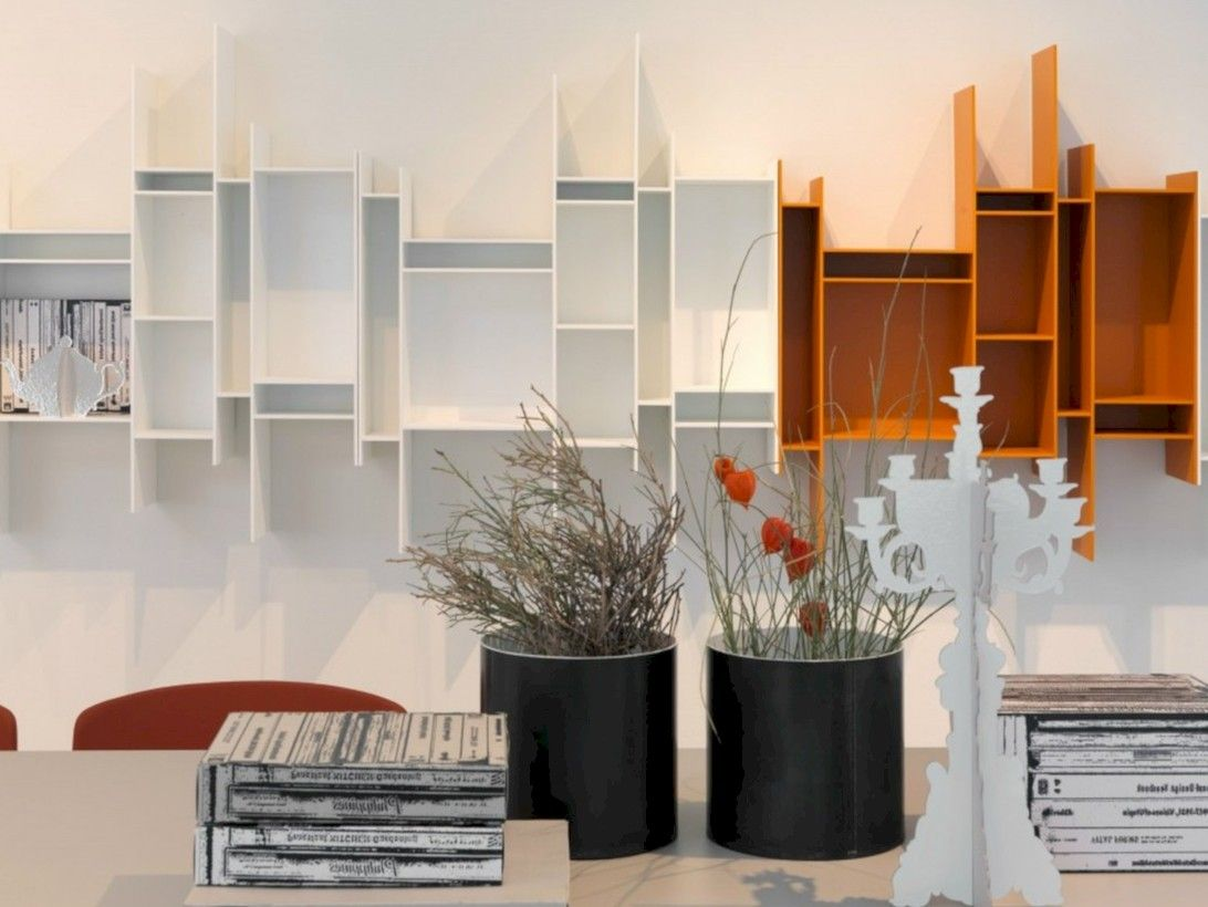 33+ Unique Modern Wall Shelves Beautiful Storage Ideas