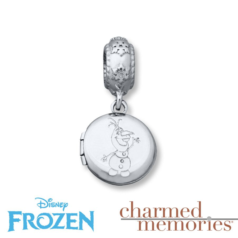 Charmed Memories Olaf Frozen Charm Sterling Silver cE9XggI