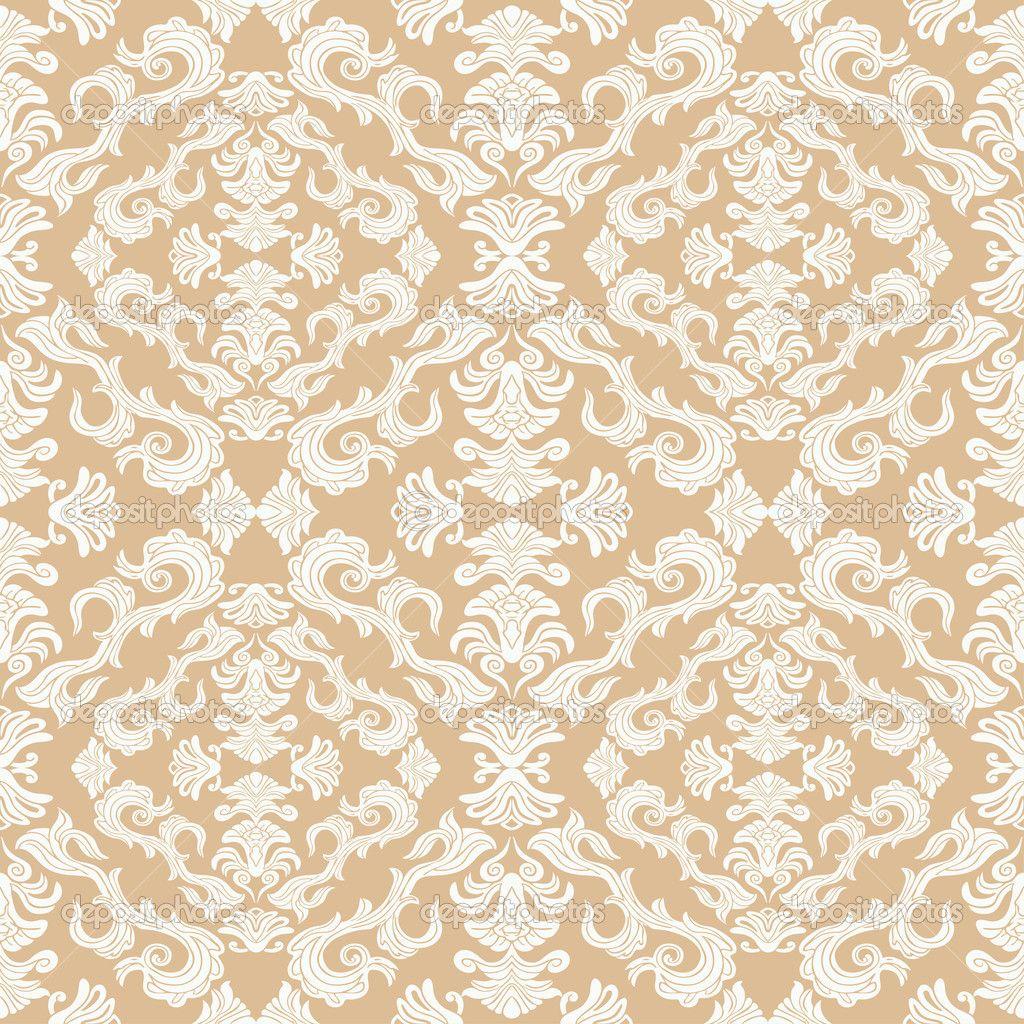 Vector Seamless Royal Patterns Royal Damask Ornament