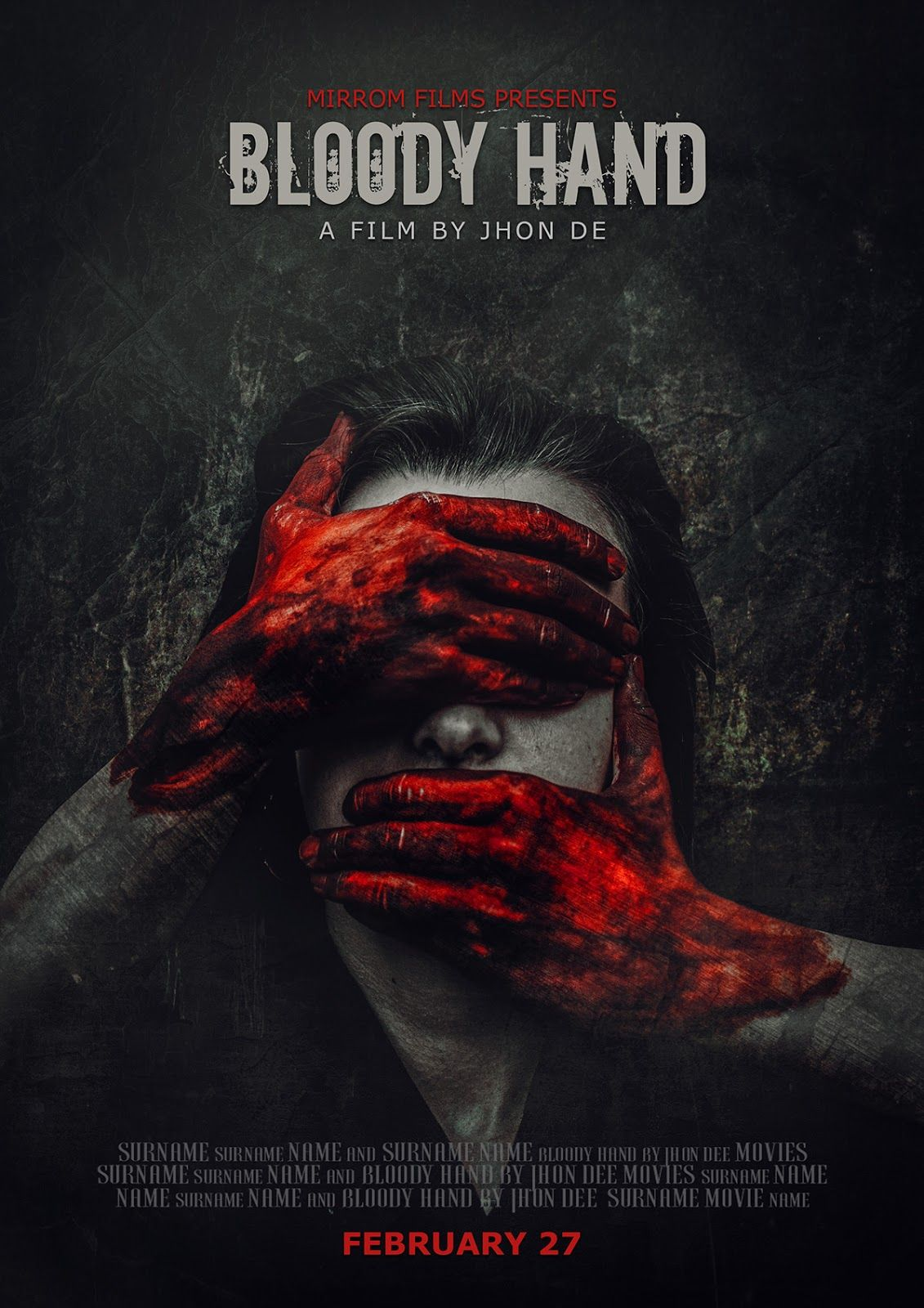 Concept Art Horror Movie Poster Photoshop Tutorial In 2020 Movie Poster Photoshop Movie Posters Horror Movie Posters