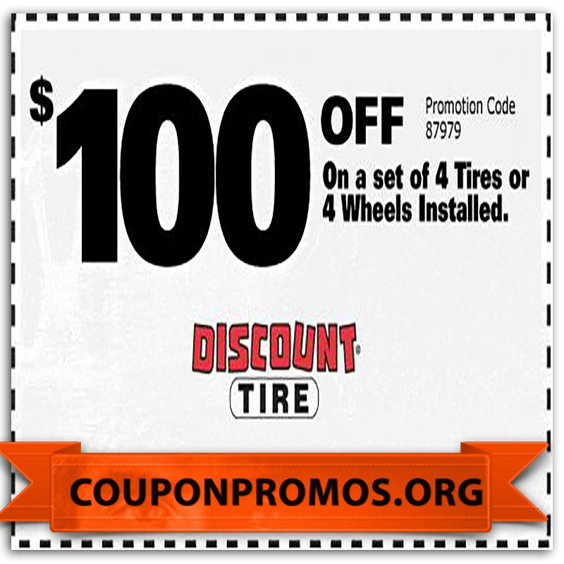 Tire discounter coupons