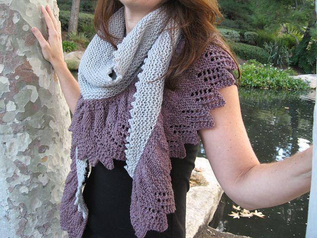 Braeburn Shawl pattern by Lori Wagner   Pinterest