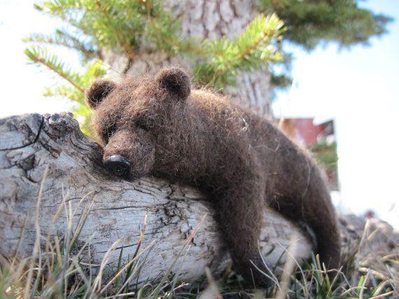 Gefilzter Bär