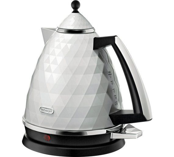 Delonghi Kbj3001 Brillante Kettle White White Kettle