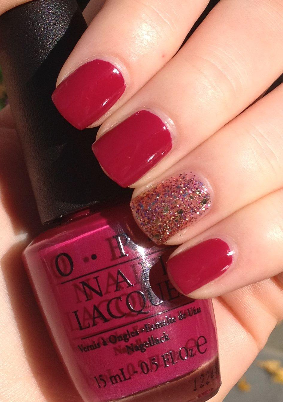 OPI Miami Beet Icing Pop a Bottle | Love nail colour | Pinterest