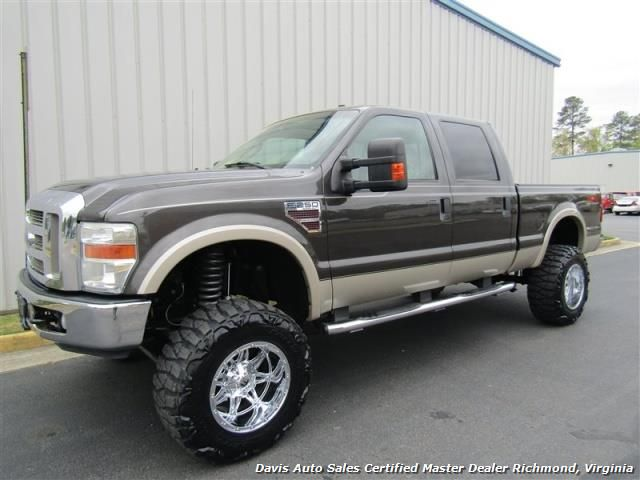 2008 Ford F 250 Super Duty Lariat 6 4 Turbo Diesel Lifted 4x4 Sb Richmond Va Davis Auto Sales Www Davis4x4 Com Or Www D F250 Ford F250 Diesel Ford Trucks