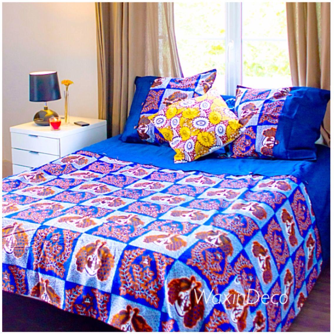 linge de lit africa African Inspired Interior Design Ideas linge de lit africa
