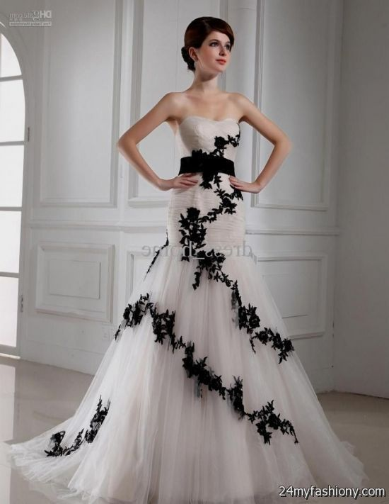 black and white lace mermaid prom dress
